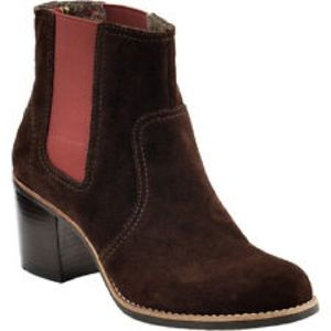 NEW SPERRY TOPSIDER SUEDE CHELSEA ANKLE BOOTS 8